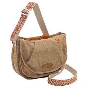 Keen Montclair Mini CrossBody Bag Purse Tan Orange